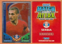 Serbia Nemanja Vidic Manchester United 196 Star Player